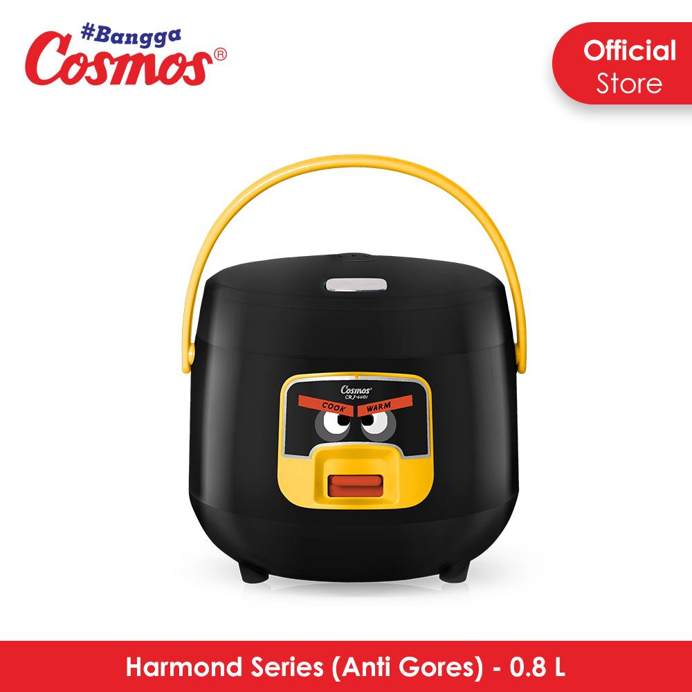 Cosmos Harmond CRJ-6601 - Rice Cooker 0.8 L Black