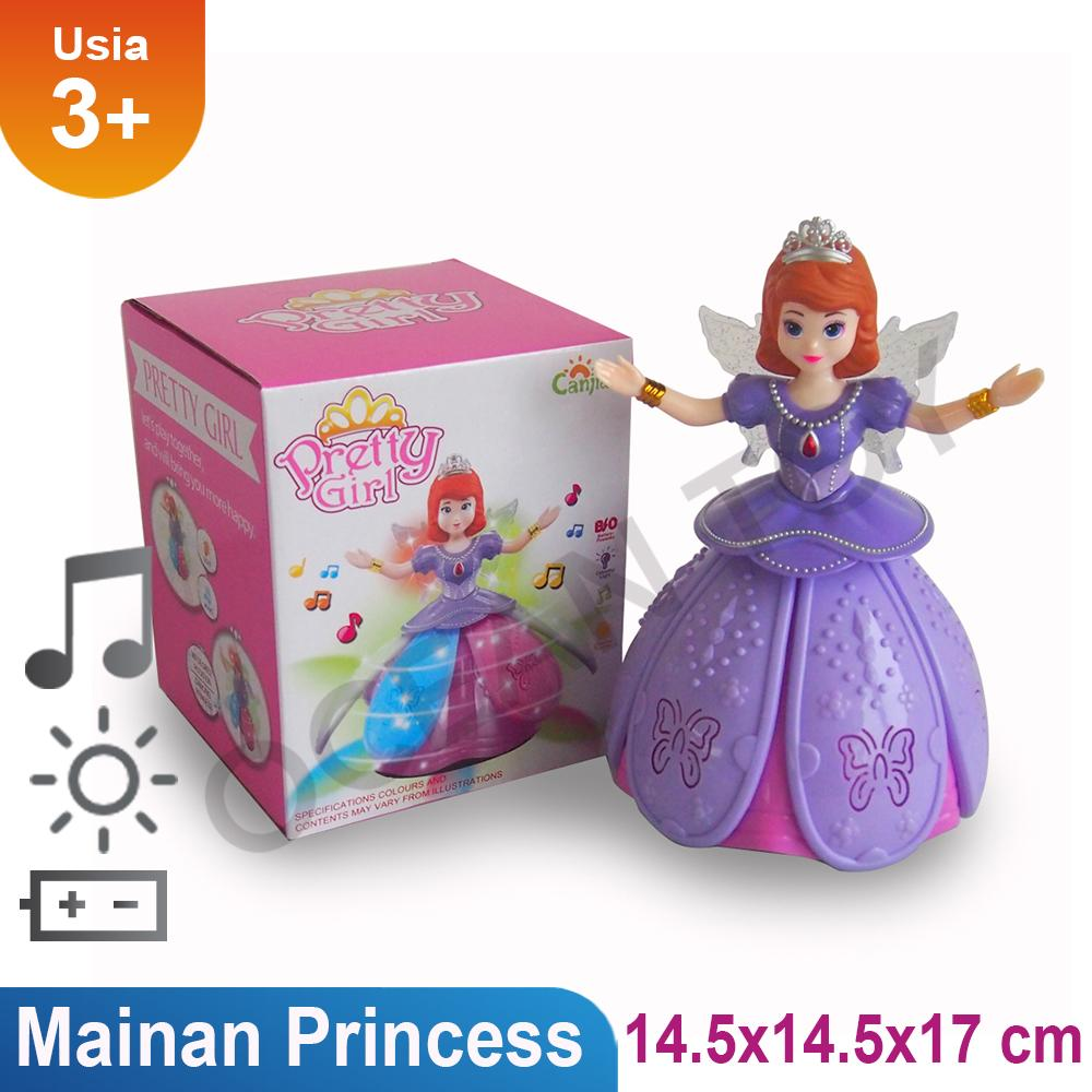 Mainan Anak Angel Girl / Mainan Anak Cewek / Mainan Musik / Suara / Lampu - Multicolor By Ocean Toy