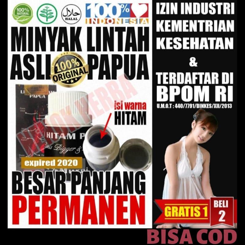 Obat  Original Lintah Minyak oles Papua Hitam Obat oke Isi 60 ml Asli 3bdbd34c63