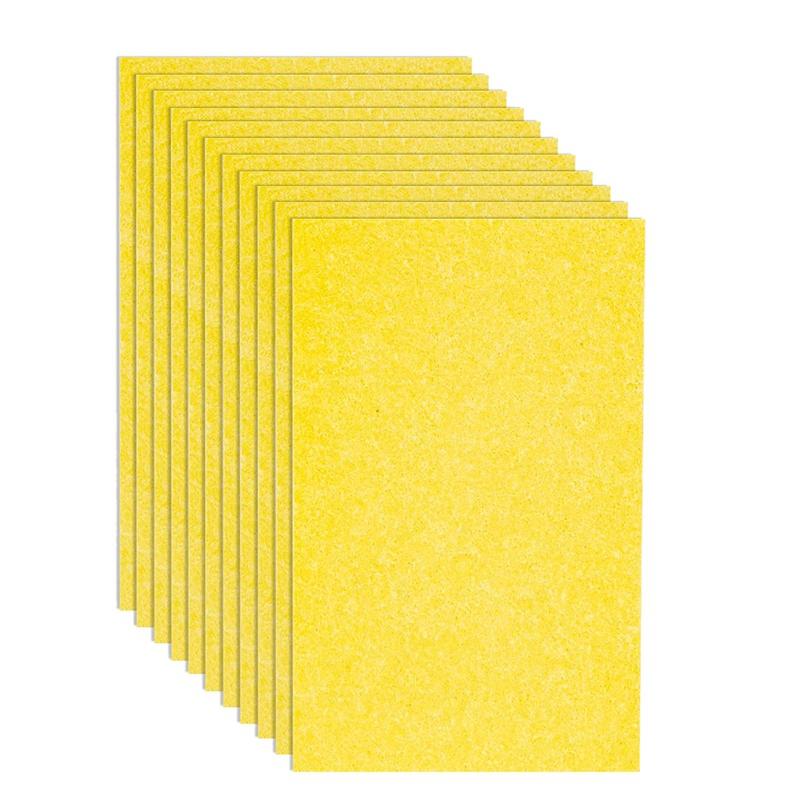Giá Sponge 12 Pcs Sponge Multi- Use Dishwashing Sponge for Kitchen Dish Bowl Pot Car Cleaning Sponges, Yellow