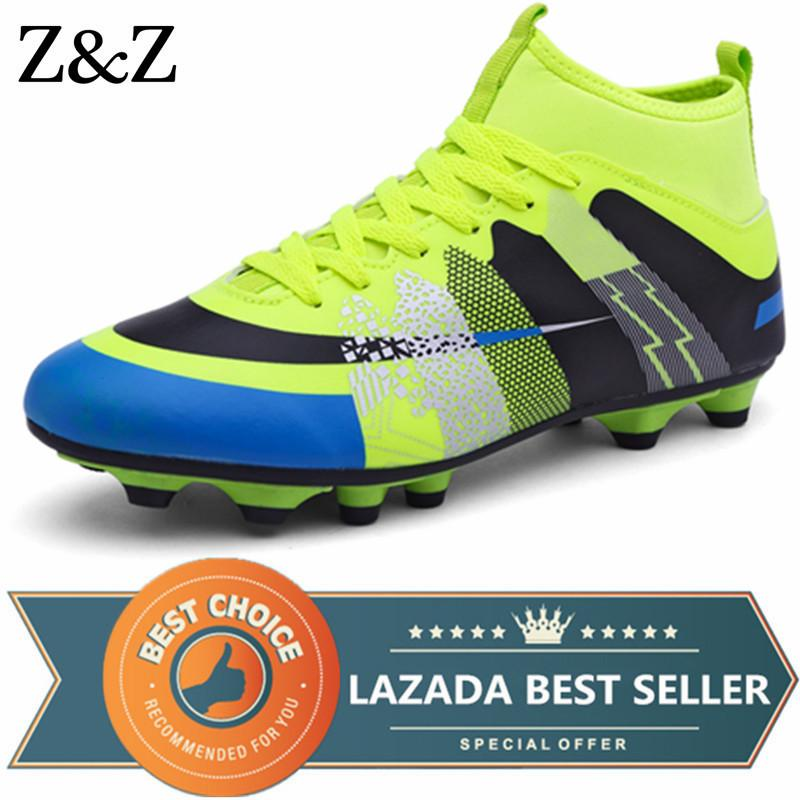 723d74bd2 Z&Z Men Boys Kids Football Shoes Soccer Cleats Soccer Shoes Children  Training For Boys