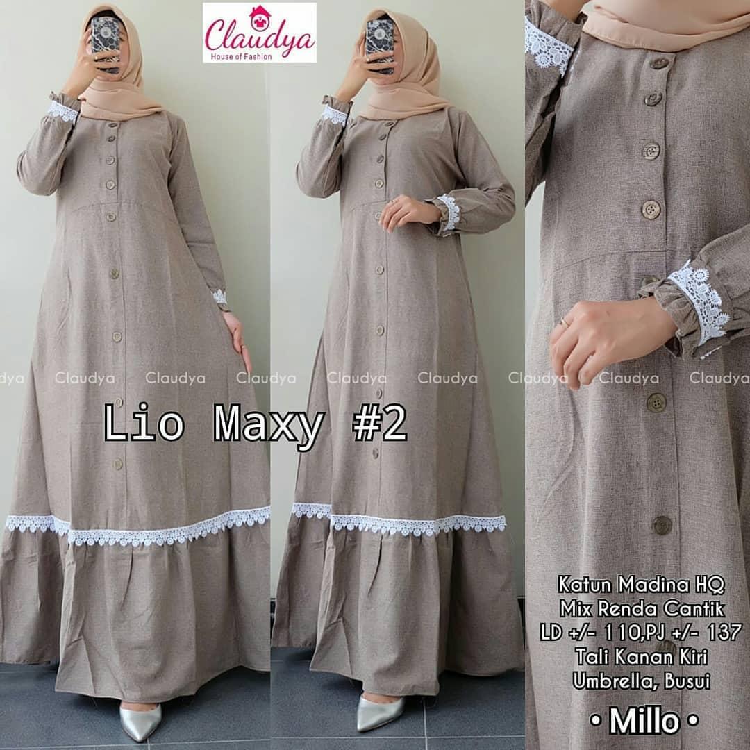 Lio Maxy Katun Madina Grosir Maxi Dress Casual Dress Midi Dress Model  Dress Pesta Dress Code Model Dress Pesta Dress Muslim Terbaru 9  Dress