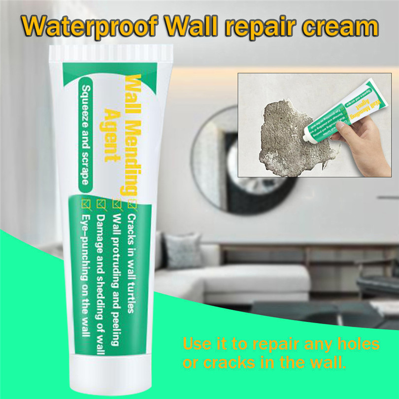 20ml Waterproof Wall Repair/Mending Cream/Agent Wall Crack Repair Wall Protector Agent Plaster Mould Proof Quick Drying Patch Restoration Original