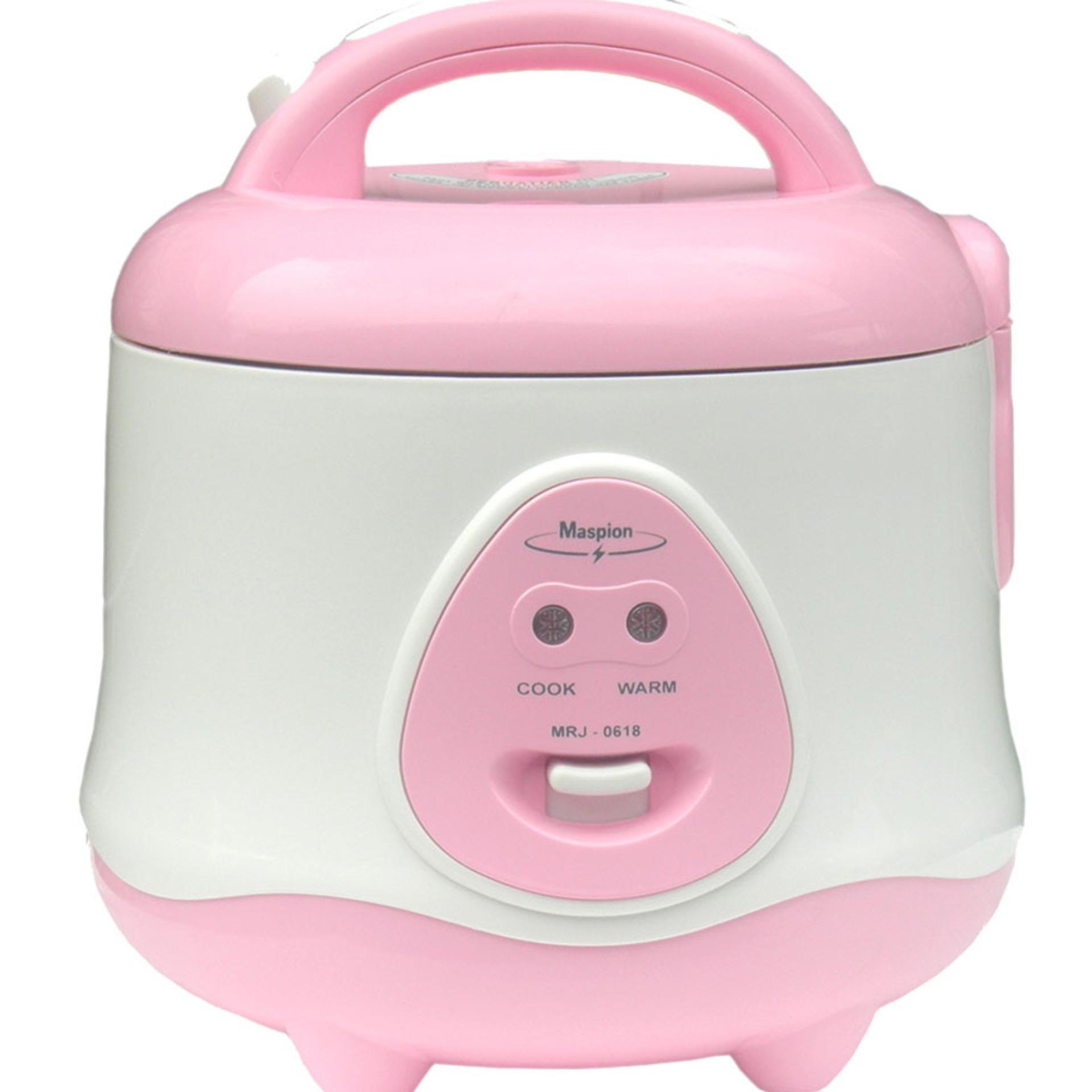 Maspion Rice Cooker Mini 0.8 Liter 3 in 1 - EX0618 - FREE ONGKIR Jabodetabek
