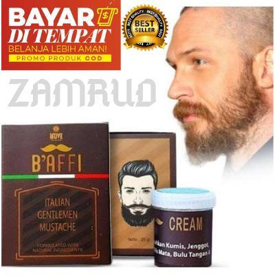 Obat Penumbuh Kumis, Baffi Cream Original BPOM, Obat Penumbuh Jenggot Penumbuh Jambang, Wak