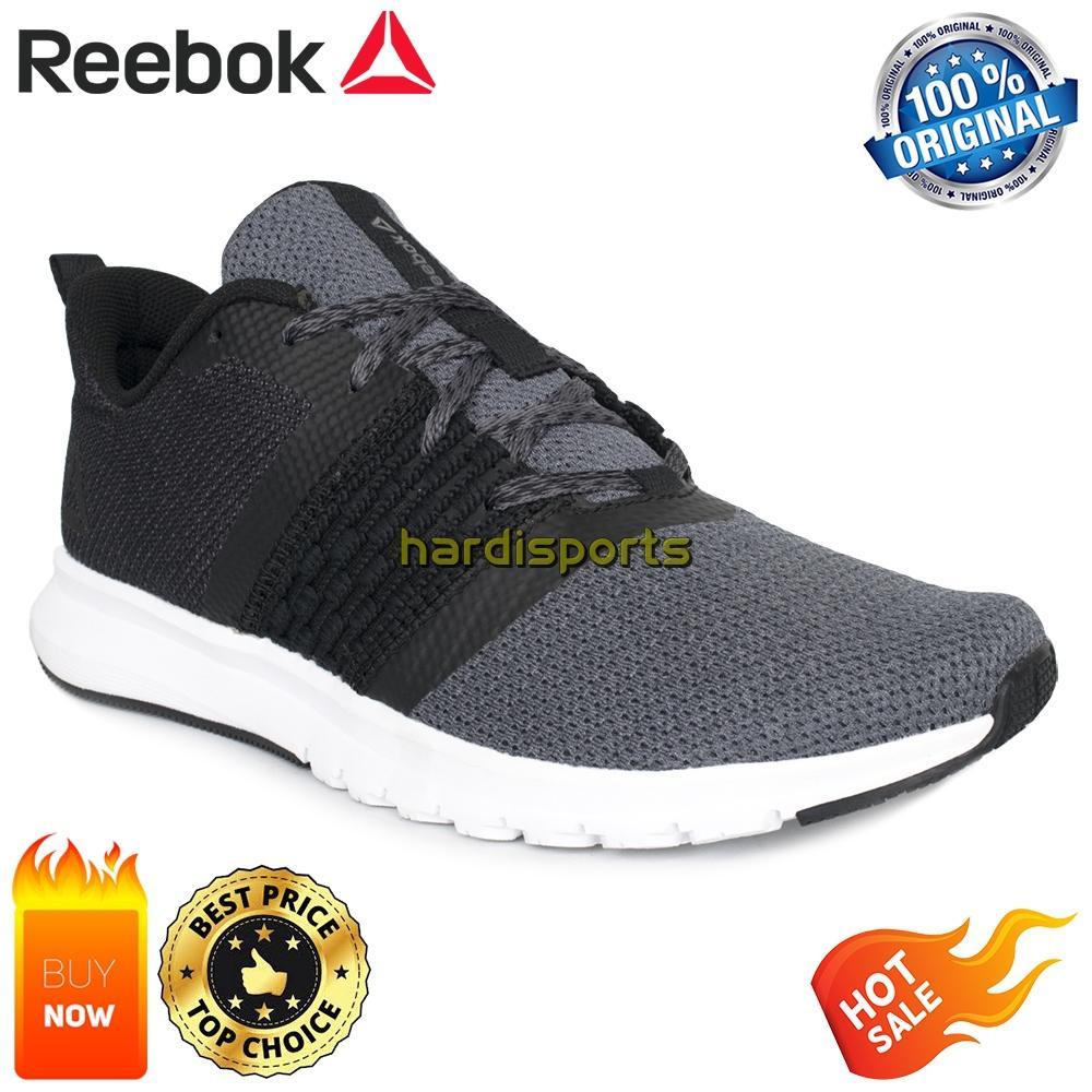 Sepatu Running Pria Reebok Print Lite Rush CM8789 - Black 1eca1c4edd