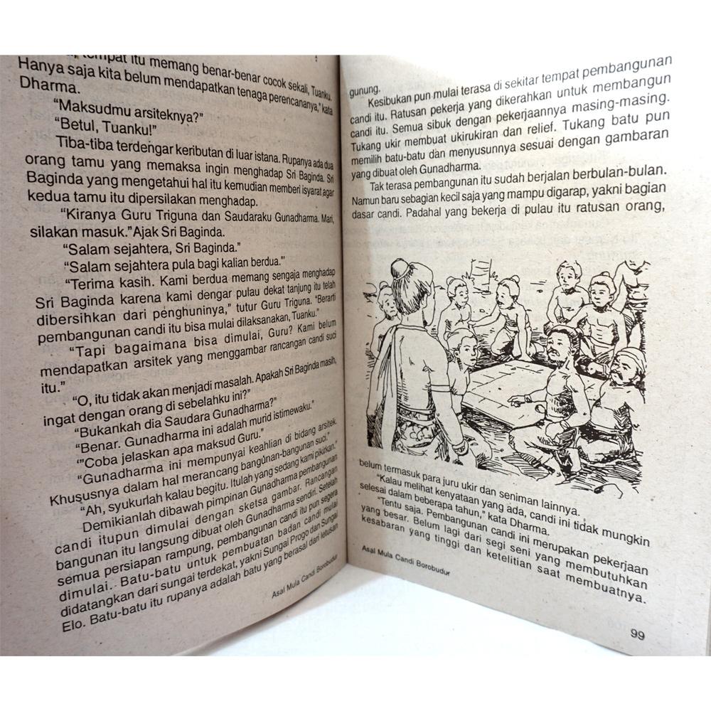 Buku Dongeng Asal Mula Candi Borobudur Dan Dongeng Lainnya