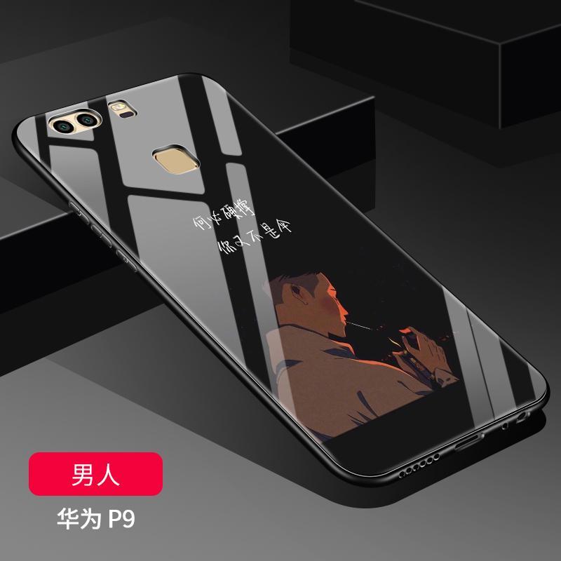Huawei p9 Casing HP Kaca Cermin p9 Casing p9plus merah kepribadian kreatif Pria perempuan Baur Bungkus Penuh sangat tipis anti jatuh Chasing luar suku cadang Trendi Silikon sampul lunak pasang item baru