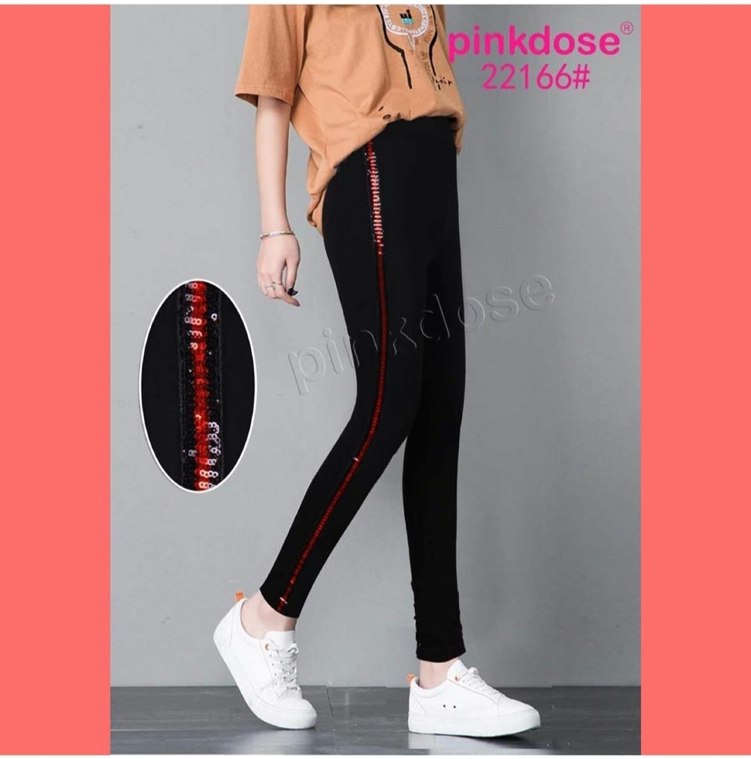 Legging Renda Import Black Motif Garis Merah Legging Import Legging Sport Legging Fashion Legging Murah Lazada Indonesia