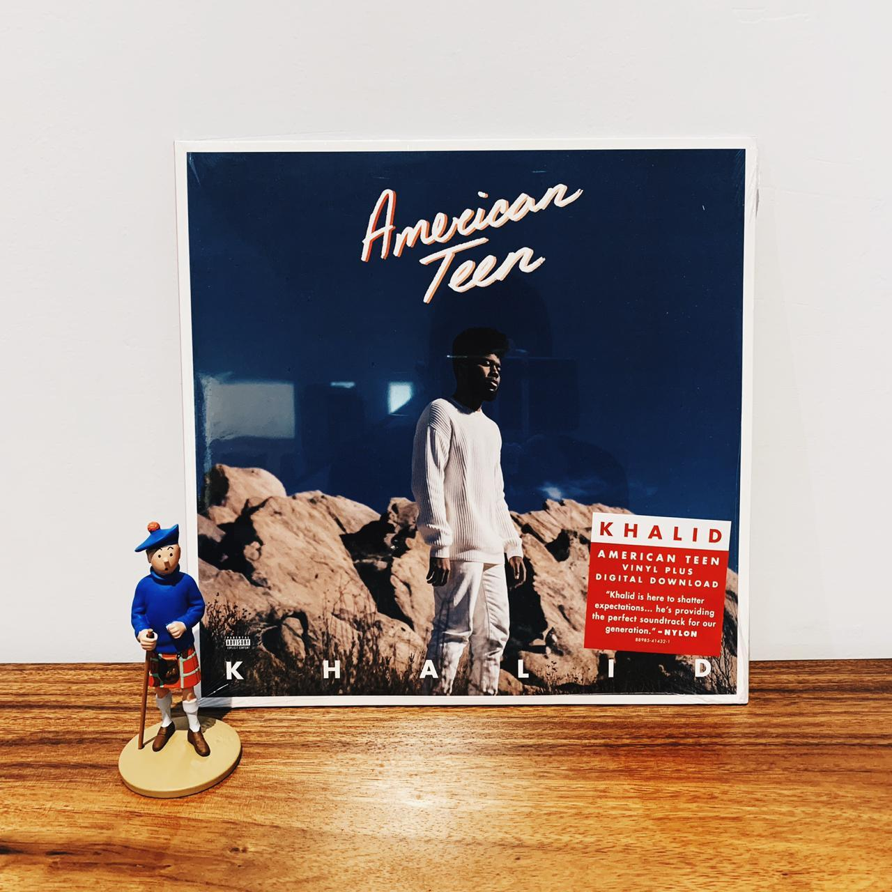 Piringan Hitam / Vinyl / Lp Khalid - American Teen By Playlist Record Store.