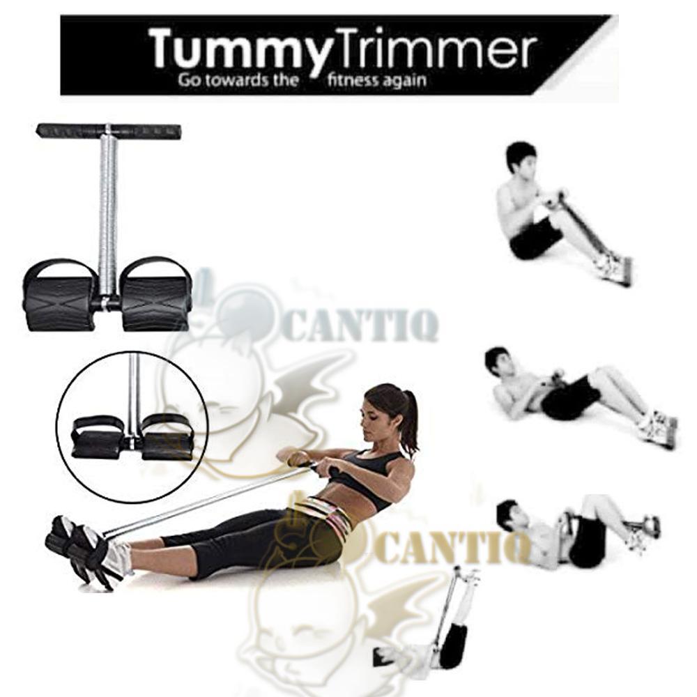 QCF Tummy Trimmer Alat Pengecil Perut Alat Pembakar Lemak Perut Alat Olahraga Praktis Alat Pelangsing Perut