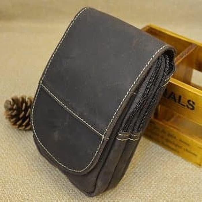JUAL DOMPET /   Tas Pinggang Case Casing Tempat Dompet Pouch HP Smartphone Tab Murah / dompeet-4899