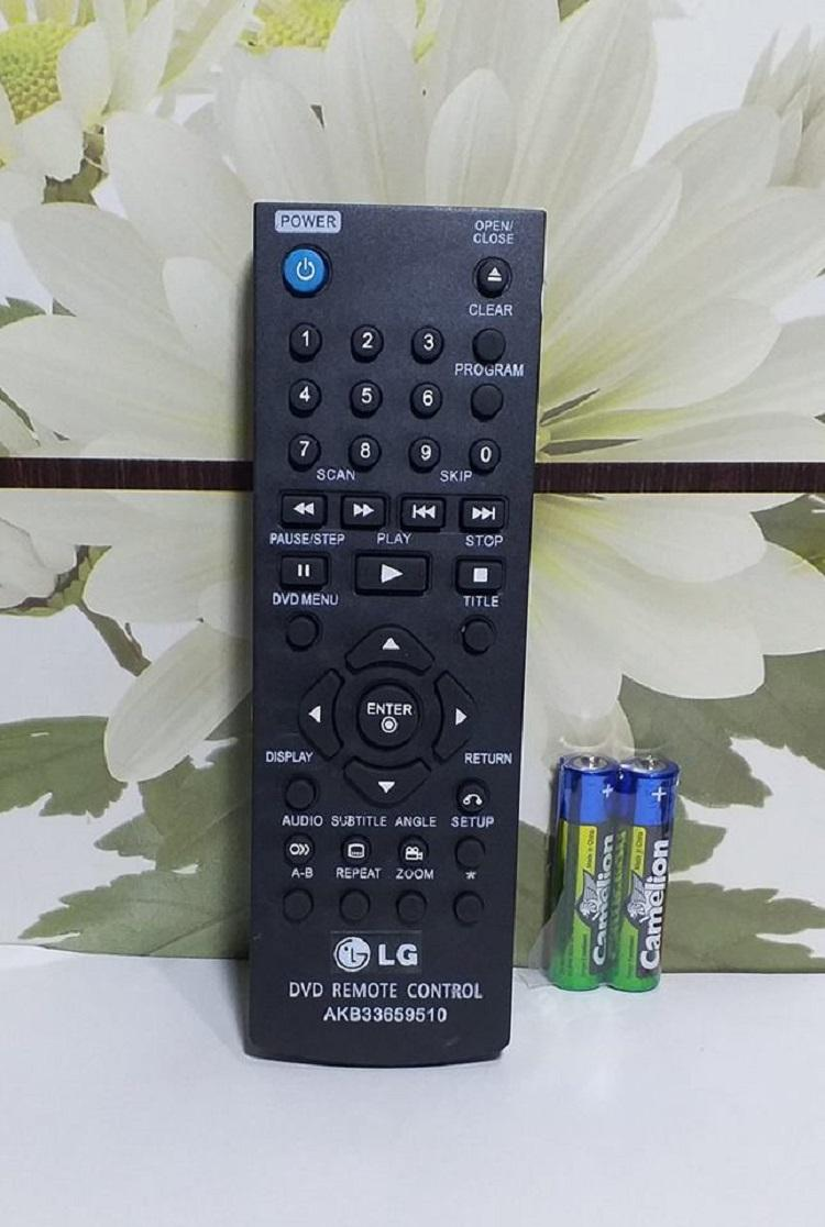 LG Remote Control DVD Player AKB33659510 - Hitam