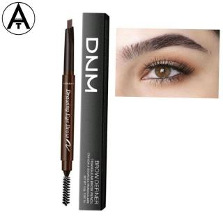 DNM pensil alis kuas 2in1 Automatic Eyebrow Pensil Alis Anti Air Pensil Alis Putar Drawing thumbnail