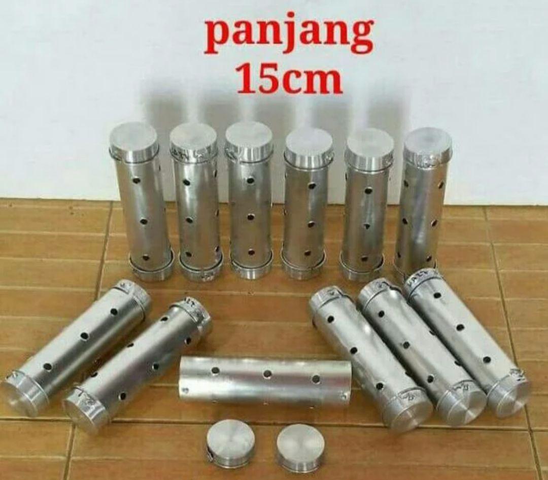 Selalu Ada - Cetakan Lontong Alumunium 1 Lusin 4x15cm By Selalu Ada.