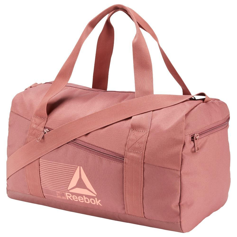 Reebok Active Foundation Grip Tas Duffel Small Unisex - Pink By Planet Sports.