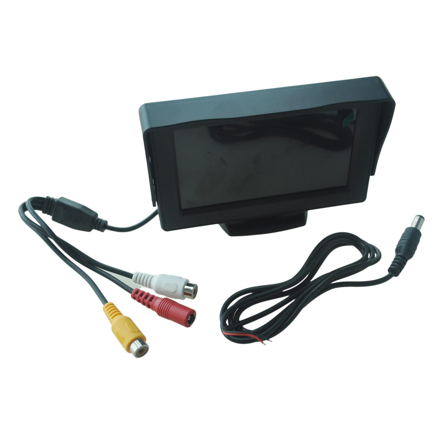 4.3 Lcd Car Dvd Cctv Reverse Rear View Camera Monitor By Superbuy888.