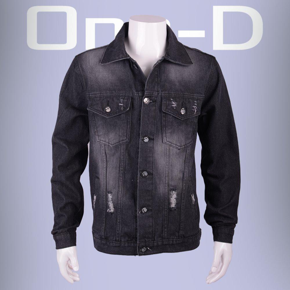 Jaket Jeans Denim Hitam Keren Bagus Murah Berkualitas Terlaris Pria One-D  21008HT 9dfd10af35