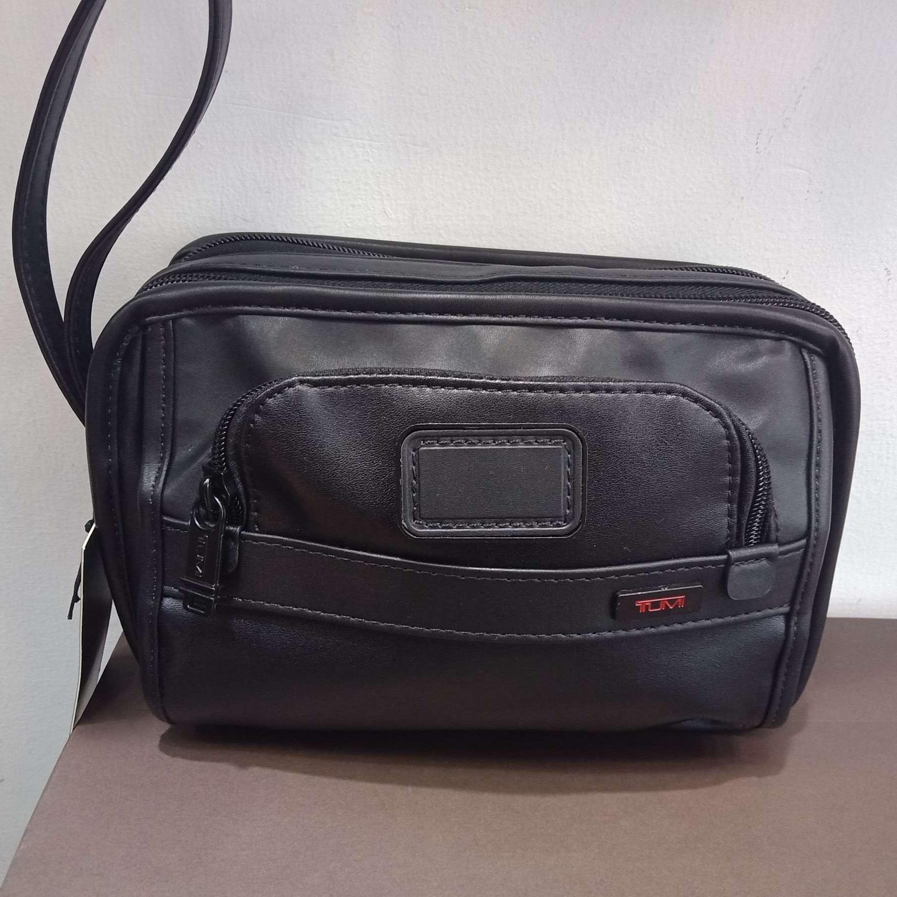 Dompet tas tangan handbag tumi full kulit kualitas mirror
