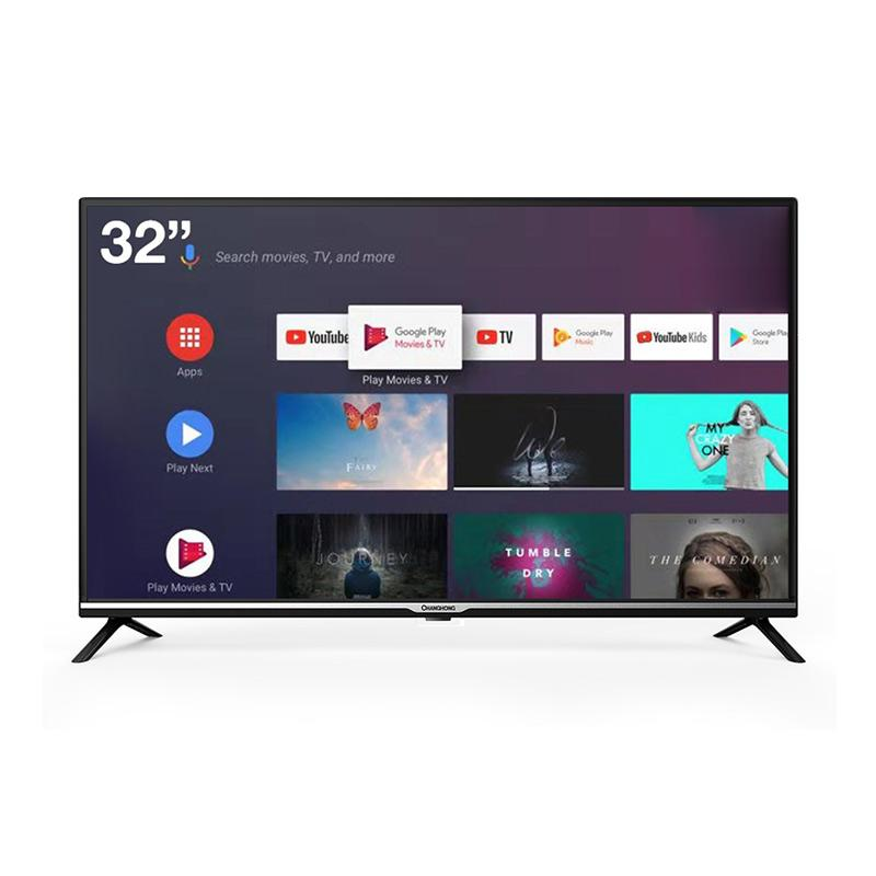 Changhong L32H4 Android Smart TV LED [32 Inch/ Google Certified/ HD Digital] Unit Only Hitam Bali