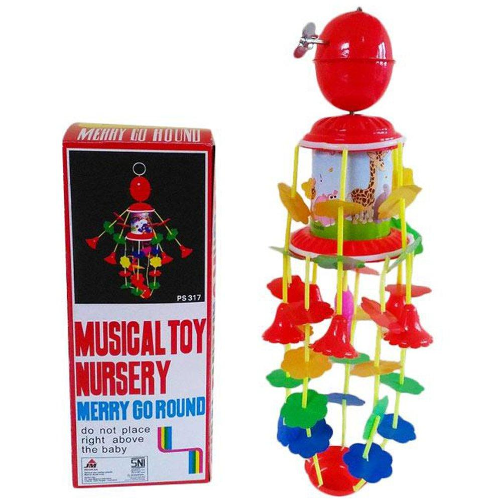 Mainan Musik Gantung Bayi Merry Go Round - Musical Toy Nursery By Rds_store.