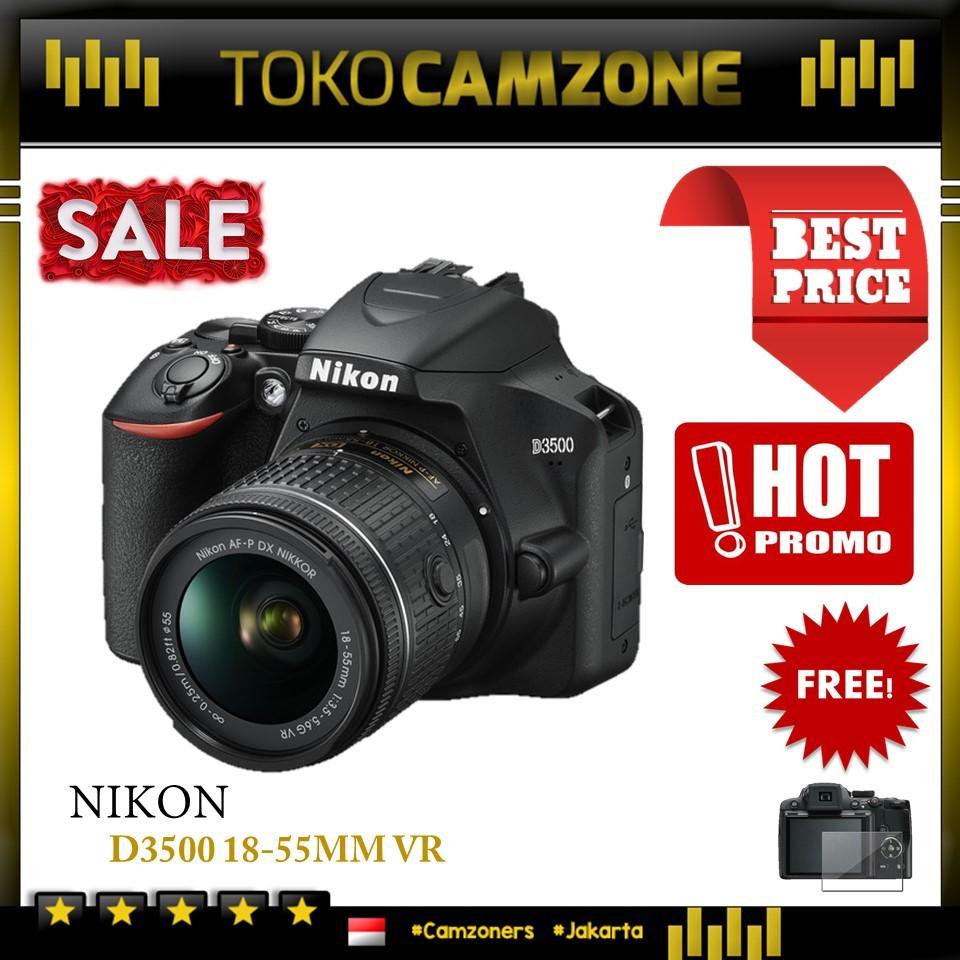 Kamera Nikon D3500 Kit 18-55mm DSLR Camera - Garansi Distributor 1 Tahun