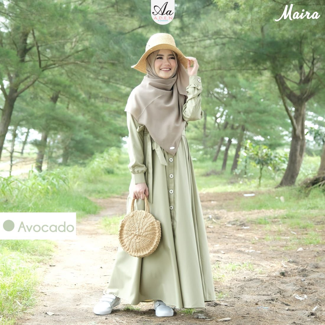 Gamis Dress Syari Maira Series By A D E N Hijab Dress Only Lazada Indonesia