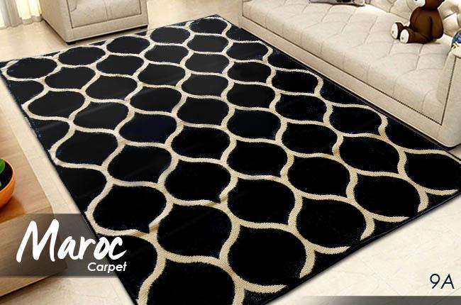 Karpet Skyrugs Super Black 9A 160X210 (Monochrome Designs)