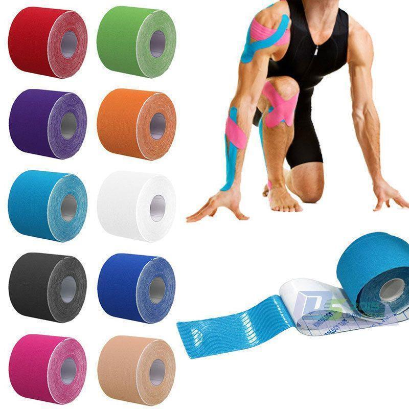 Kinesio Tape Original Kinesiology Tape For Sport Theraphy - Random Colour By Juny_store.