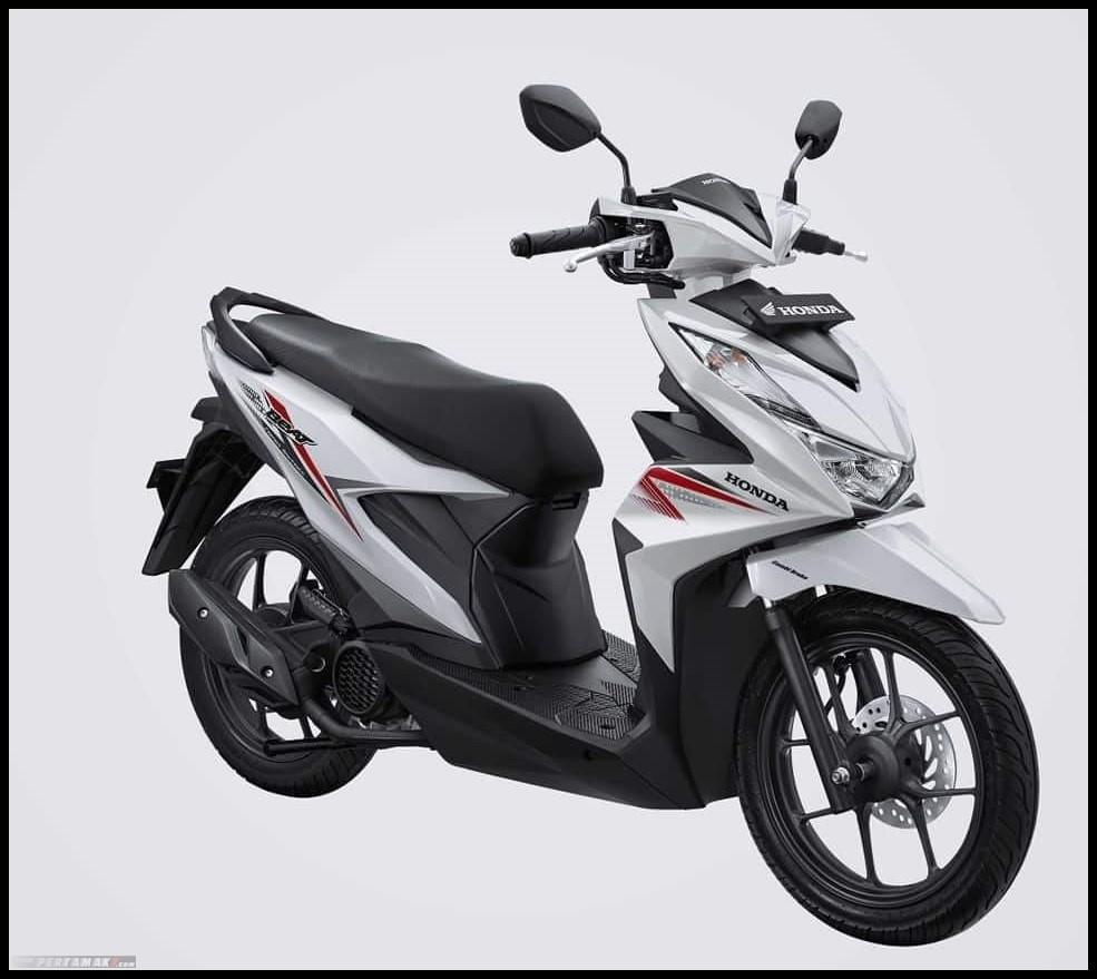 Sticker Striping Motor Honda Beat Cbs Fi 2020 Full Putih Merah Lazada Indonesia