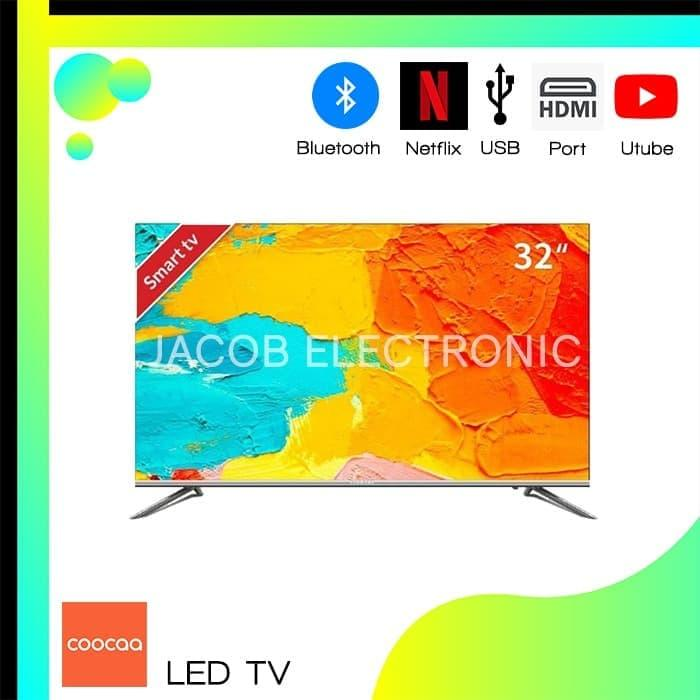COOCAA LED TV DIGITAL SMART NETFLIX 32 INCH HDMI USB ETB5000 YOU TUBE