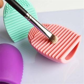 Hipopo Brush Egg Cleaner Pembersih Kuas Make Up Kuas Blush On Makeup Kosmetik UN006 thumbnail