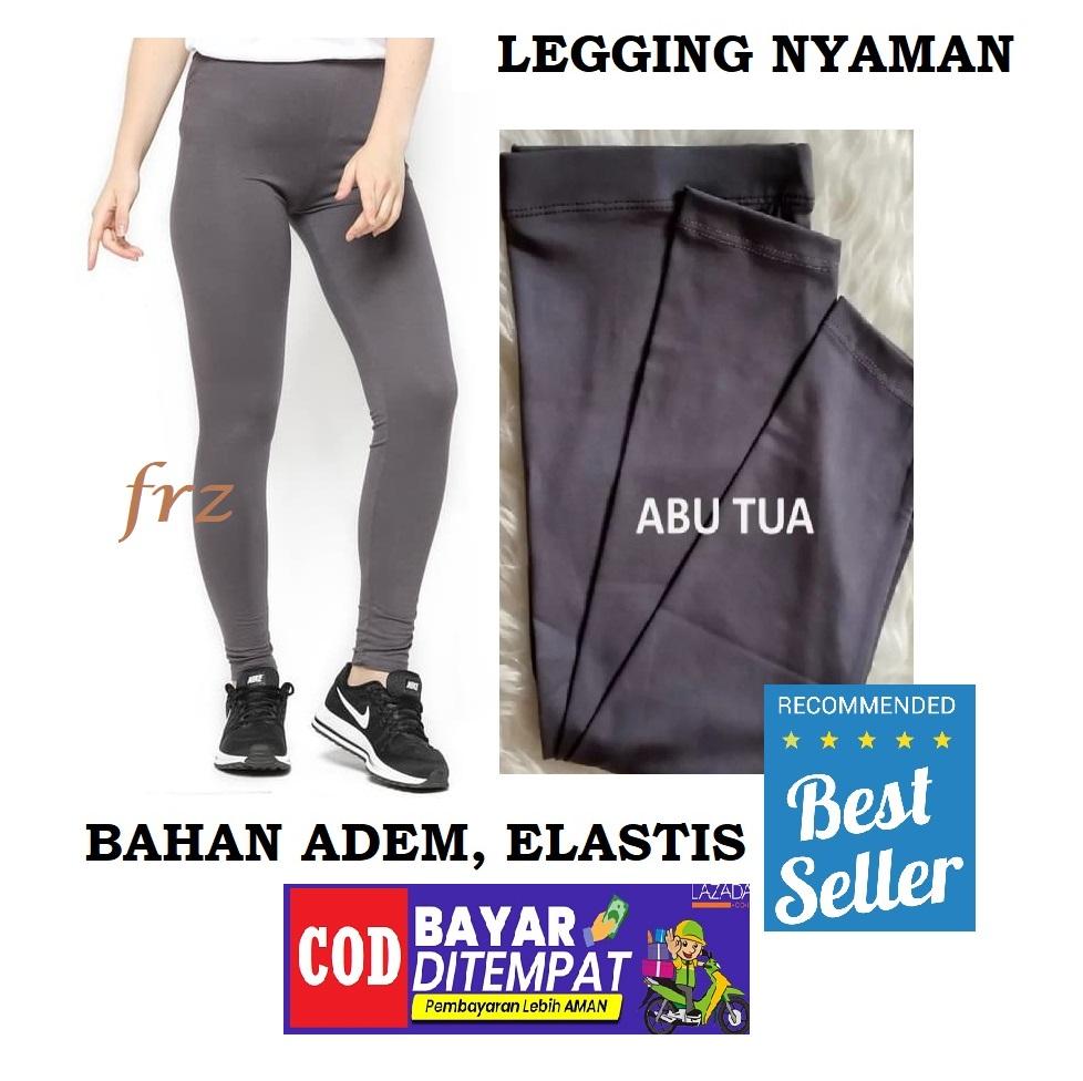 Best Seller Celana Legging Panjang Spandex Halus Adem Bs Cod Konveksi Langsung Lejing Celana Leging Leging Std Lazada Indonesia