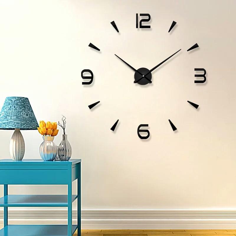 Jam Dinding Raksasa 3D Giant Wall Clock 7f7c774b2a