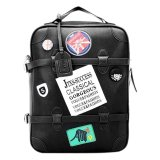 Toko Pps Fashion Wd657 Backpack Hitam Indonesia