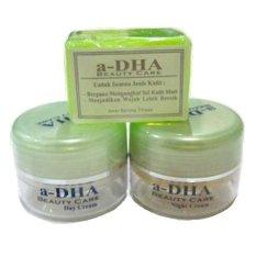 Spesifikasi A Dha Green Cream Pemutih Kulit Paket Ekonomis Lengkap