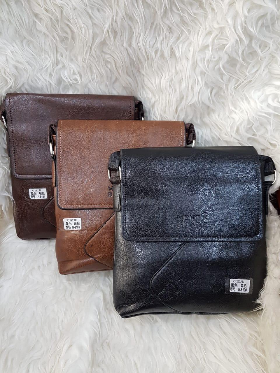 Tas Kulit Pria Slimbag Bodybag Import Branded - MONT BLANC 79f1b94087