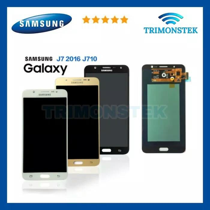 Lcd + Touchscreen Samsung Galaxy J710 J7 2016 AA+ Non Kontras