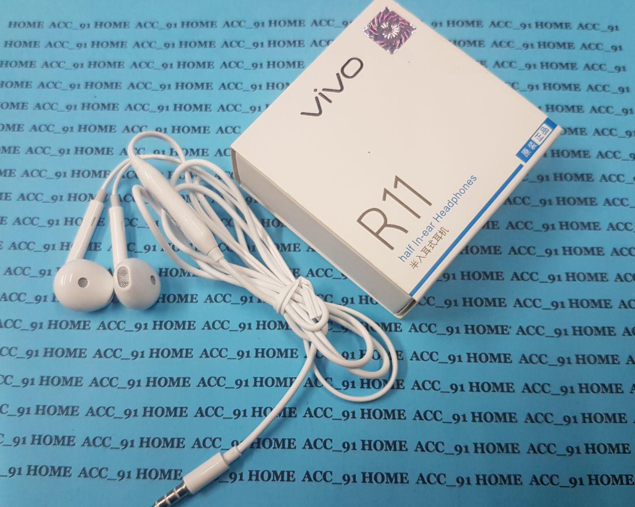 Headset Earphone VIVO Y81 Y91 Y93 Y95 High Quality R11 Handsfree