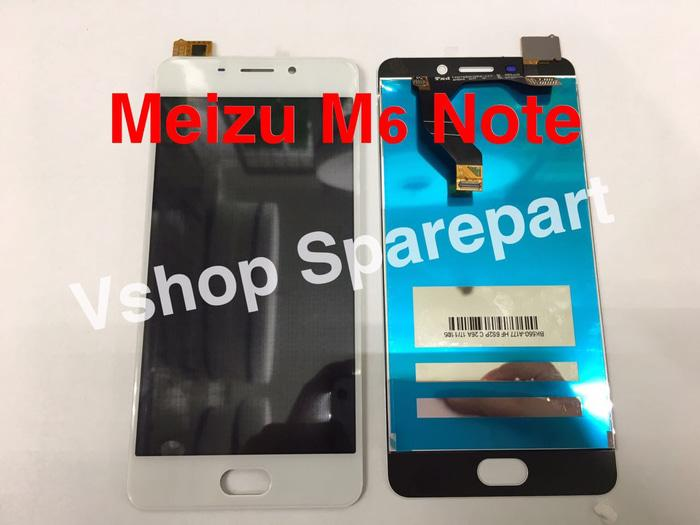 Lcd Touchscreen Meizu M6 Note White