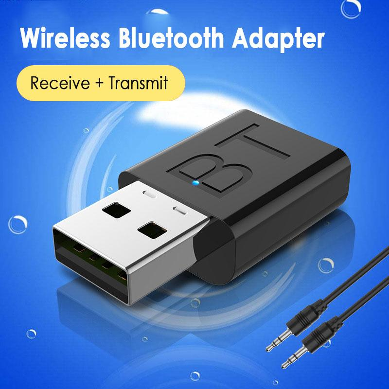S_way Bluetooth 5.0 Audio Receiver Transmitter Mini Stereo Bluetooth AUX RCA USB 3.5mm Jack For TV PC Car Kit Wireless Adapter