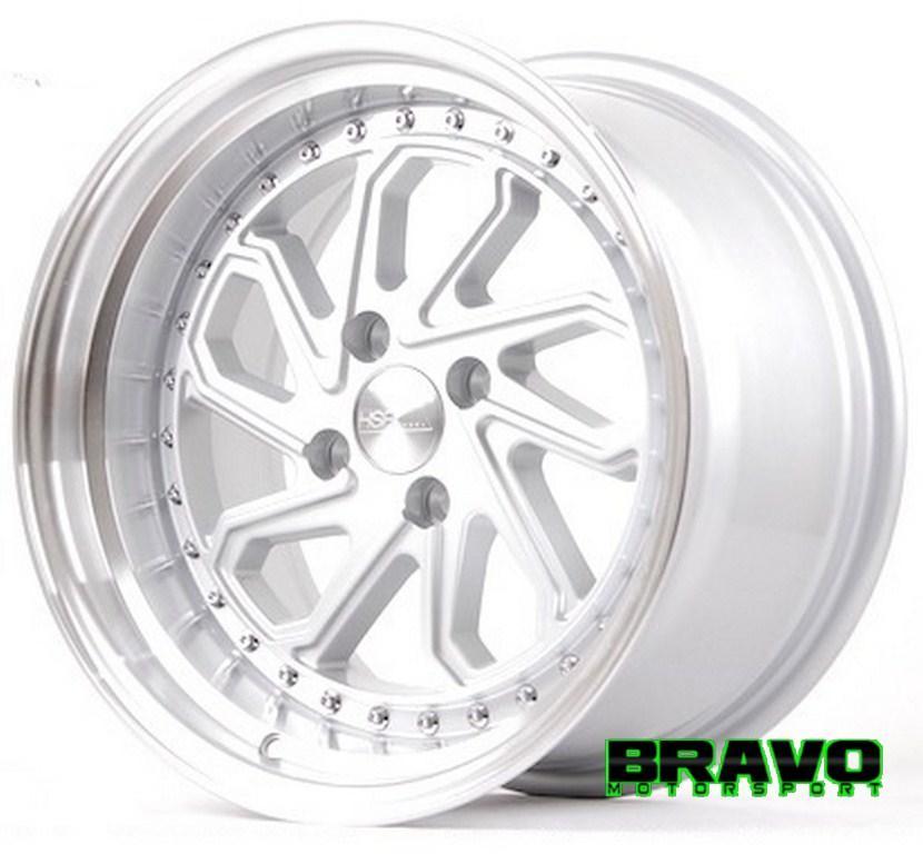 Velg Mobil Ring 15 HSRDOBO Silver Racing Yaris Brio Mazda2 Vios City Z
