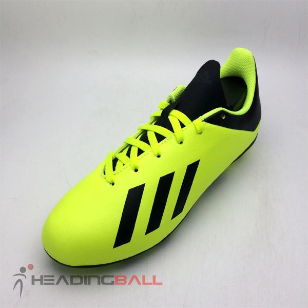 Sepatu Bola Anak Adidas Original X 18.4 FXG JR Solar Yellow DB2420 d5ff04b62a