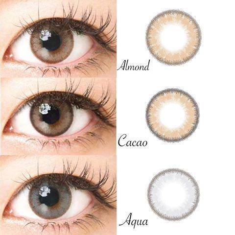 Softlens Gel Luna Natural Best Seller - Diameter 14.5mm