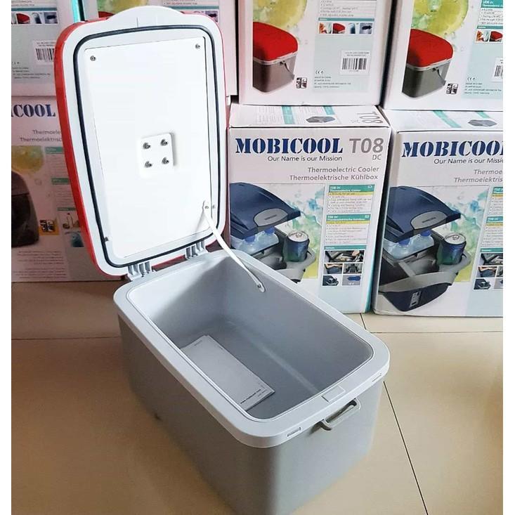 HARGA DISKON!!! Kulkas Mini Mobil Thermoelectric Cooler Box Pendingin Mobicool DC U06 - Merah