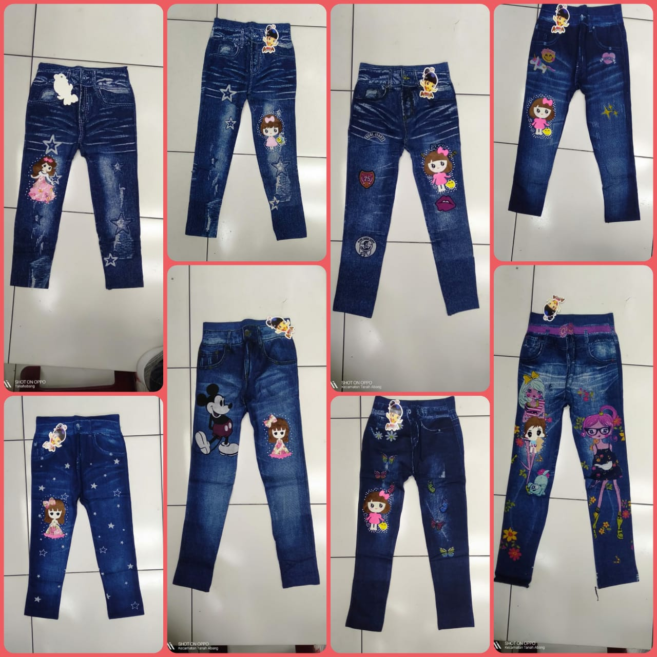 M2 Store Celana Legging Shoft Jeans Import 4 12t Celana Anak Legging Anak Bawahan Celana Celana Lazada Indonesia