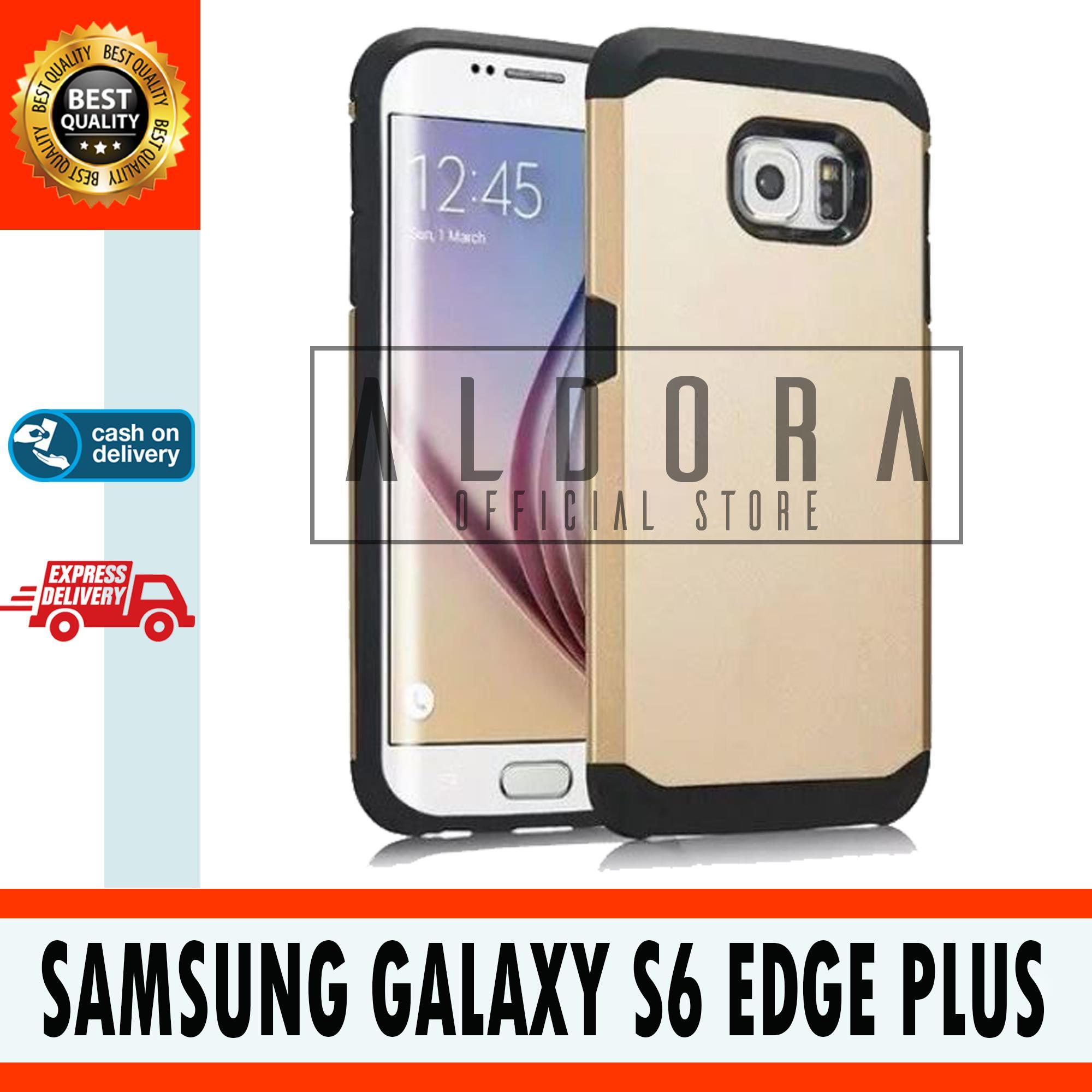 Aldora Case Compatible With For Samsung Galaxy S6 Edge Plus Slim Armor Series 2 Layer Premium Quality