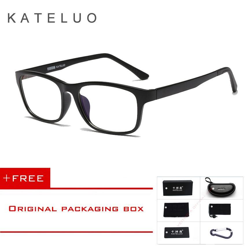 COD+Pengiriman Gratis KATELUO Kacamata Anti Radiasi Warna Biru untuk Pria    Wanita 9219 5d50f4f729