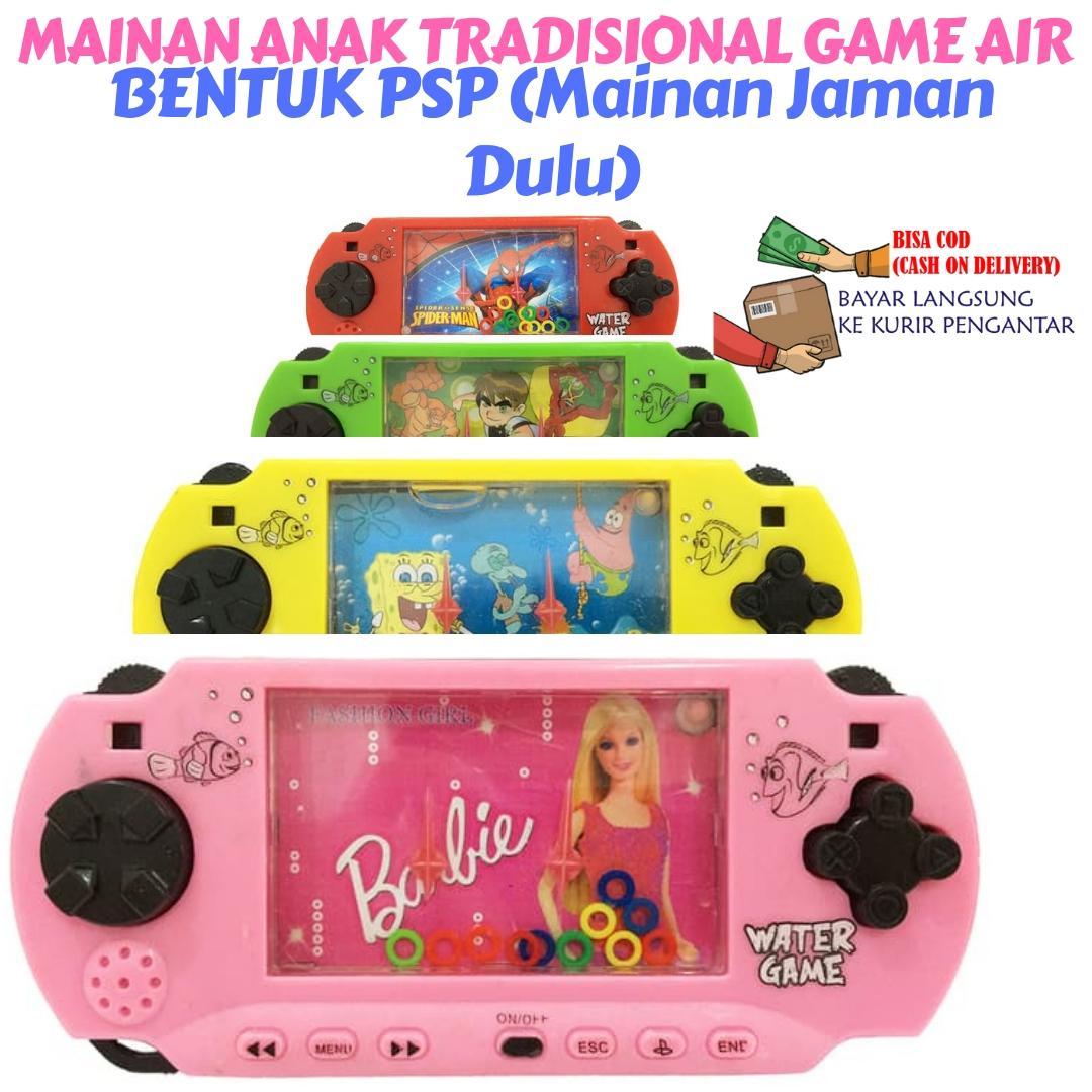 Mainan Anak Tradisional Game Air bentuk PSP (Mainan Jaman Dulu)