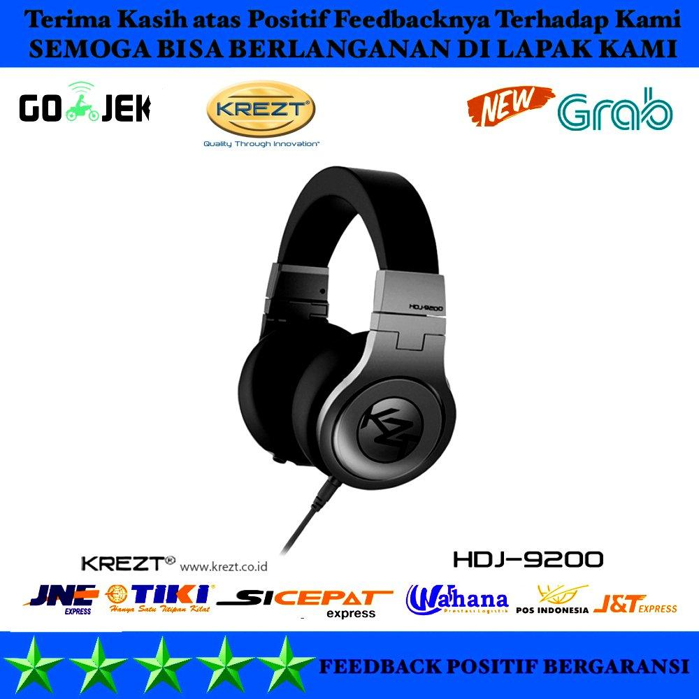 HEADPHONE KREZT H DJ 9200 ORIGINAL